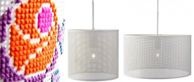 lamp borduren eigen patroon