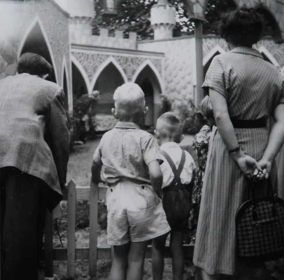 de Efteling 1956 zomervakantie