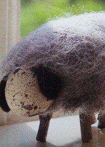 schaap en lammetje knutselen maken