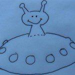 Traktatie ufo eierkoek op school zelf maken