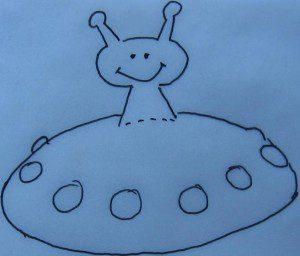 ufo eierkoek traktatie smarties