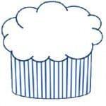 Recept cupcake en liefdevol versieren met romig mengsel
