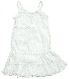 wit jurkje pimpen