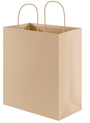 Gratis bouwplaat papieren tas als cadeauverpakking