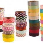 Japanse tape om te versieren, scheuren, decoreren