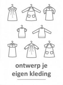 zelf kleding ontwerpen en maken
