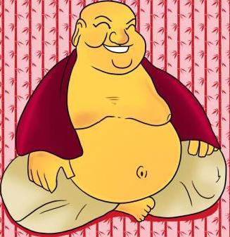 boeddha maken als sinterklaas surprise