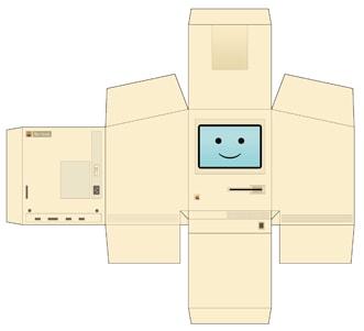 Bouwplaat computer en tip sinterklaas surprise