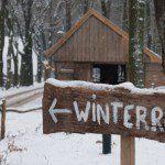 Kerstvakantie in winters openluchtmuseum