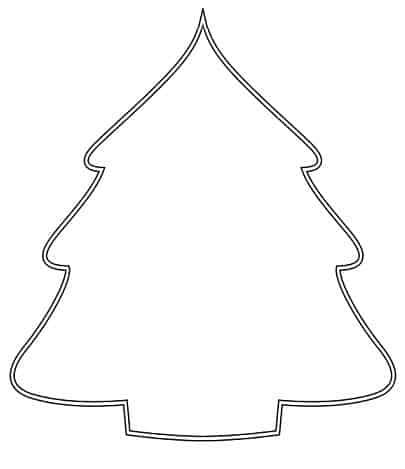 Kerstboom Simpele Tekening Hobby Blogo Nl
