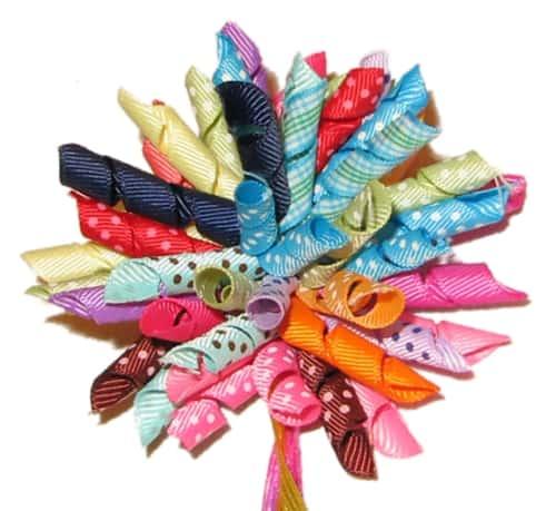Hoe lint decoratie maken voor cadeau verpakking