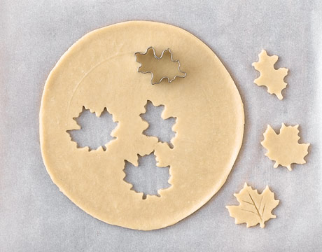 Herfstkoekjes maken recept zandkoekjes
