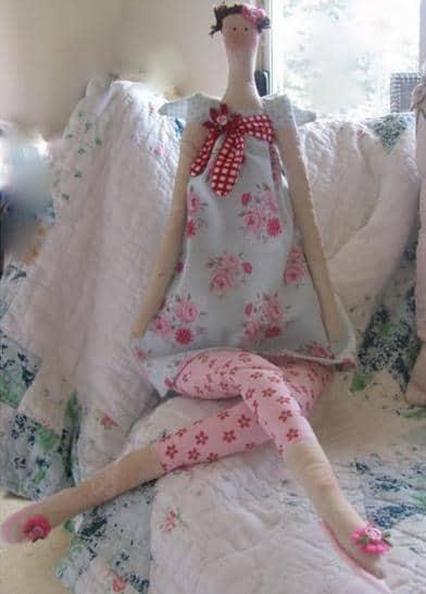 Hoe Tilda poppen maken en gratis patronen