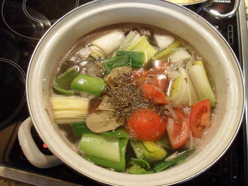 Recept lekkerste en snelste bouillon
