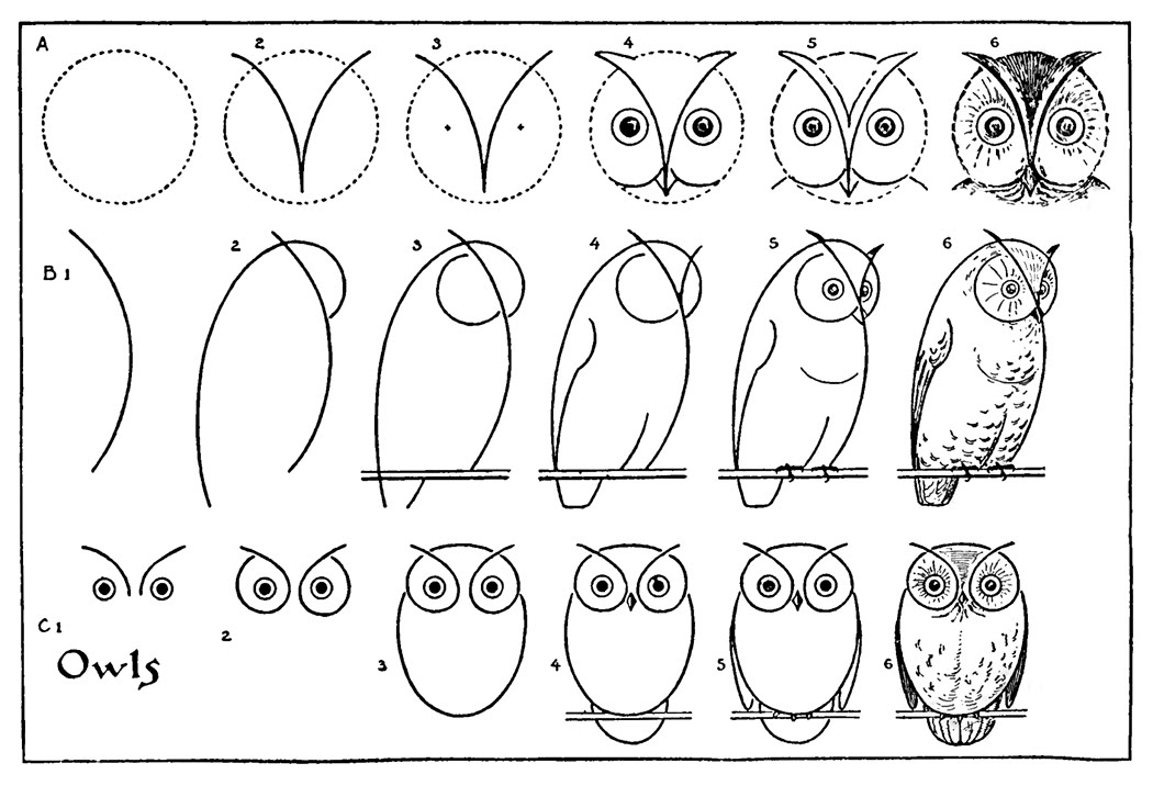 Fabulous Online stap voor stap leren tekenen - Hobby.blogo.nl #LE27