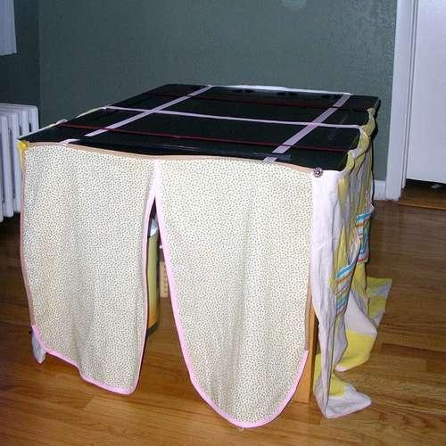 hoe tafeltent maken