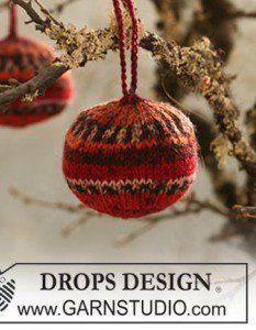 Kerstballen Haken En Breien Met Gratis Patronen Hobbyblogonl