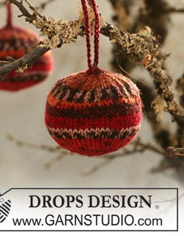 Kerstballen haken en breien gratis patronen