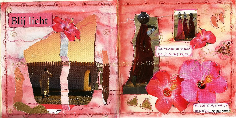 Journaling is werken met kunstzinnig dagboek