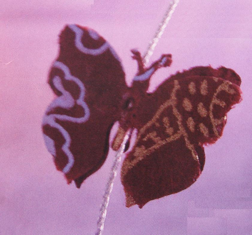 Inpaktip met zelf te maken vlinderlint