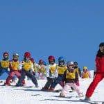 Leeftijd kinderen mee met wintersport