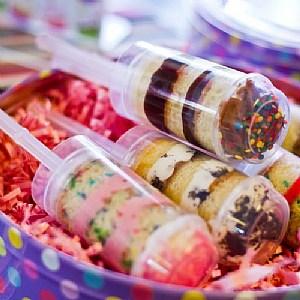 Hoe cakepop lollie en cakepush-up maken