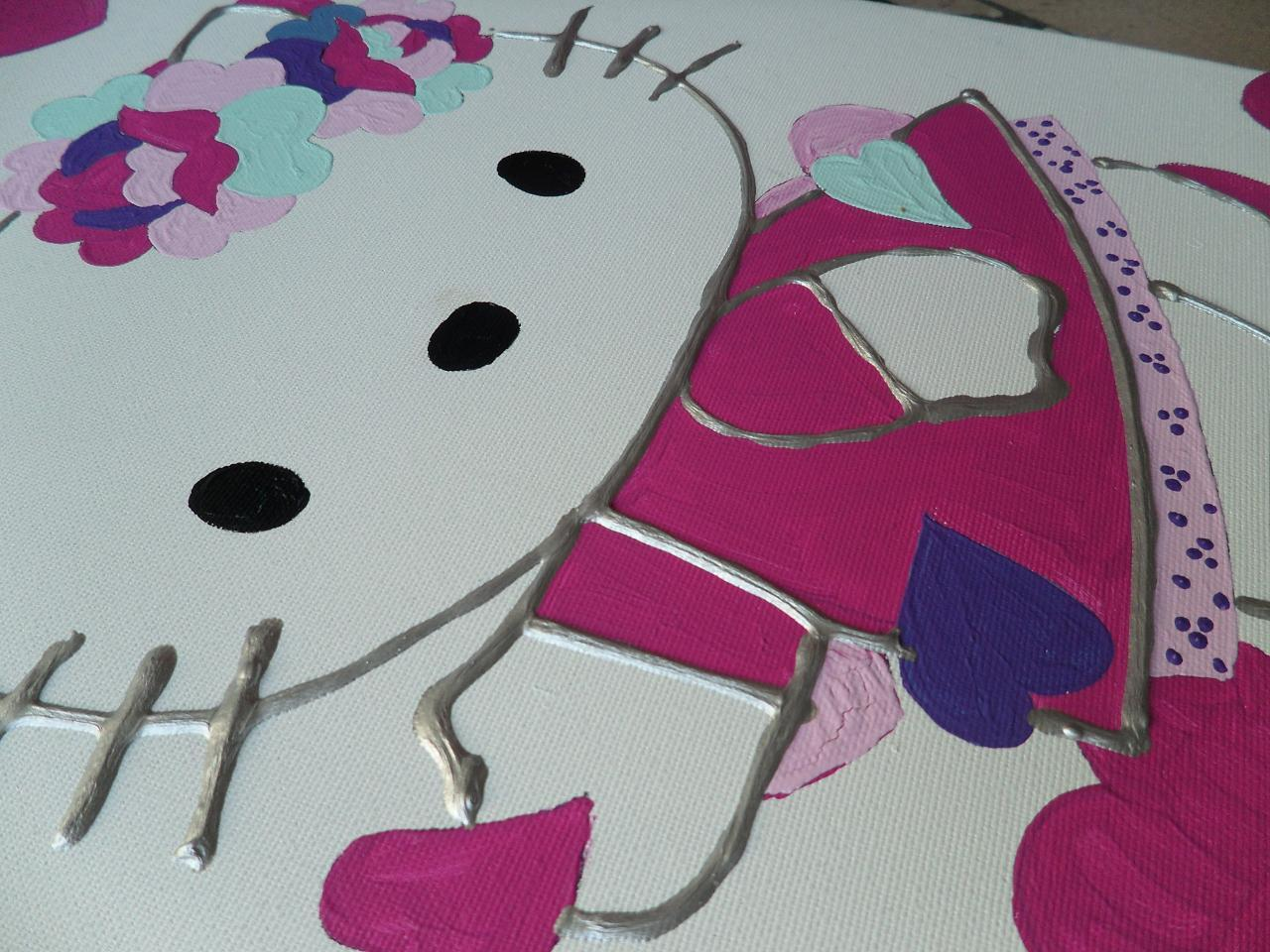 Hoe schilderij maken voor de baby- en kinderkamer