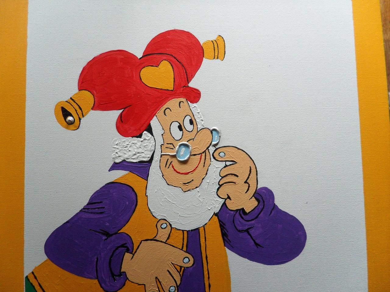 schilderijen schilderen voor de kinderkamer kabouter plop 4 - Hobby ...