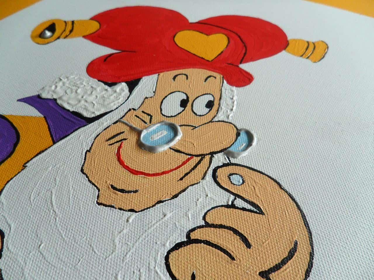Schilderen idee kinderkamer - Babykamer schilderij idee ...