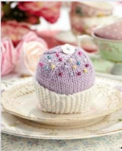 Gratis breipatroon cupcake breien
