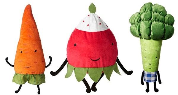 Patronen om groente knuffels te maken