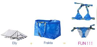 Wat kan je maken van de IKEA tas