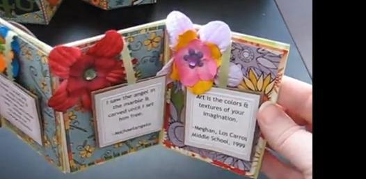 Hoe een klein persoonlijk boekje maken for Kleine vijverfilter zelf maken