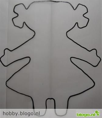patroon simpel poppetje meisje 5