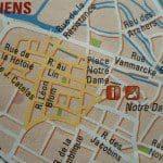 Mega antiekmarkt in Amiens Noord Frankrijk