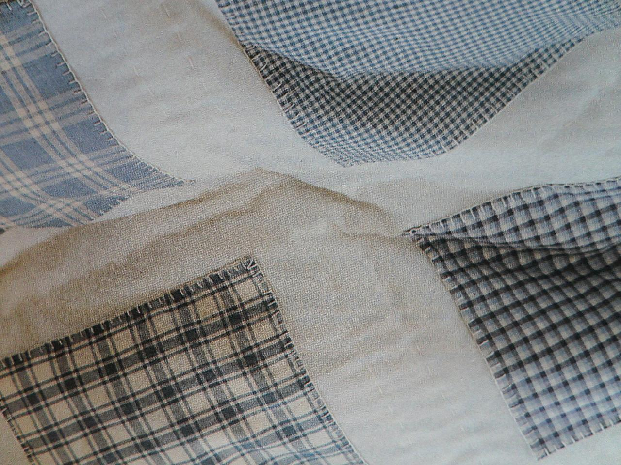 Simpel en snel een sprei naaien en borduren