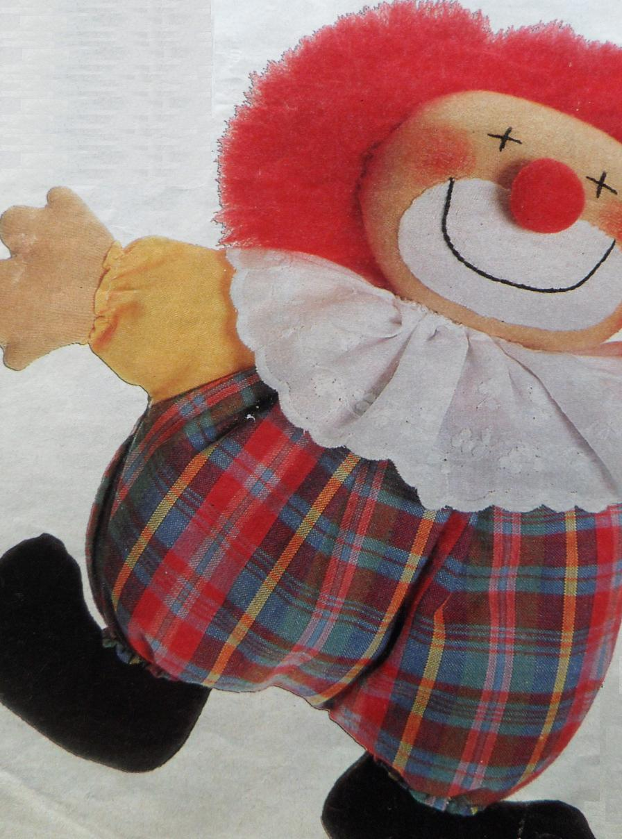 Patroon baby clown pop