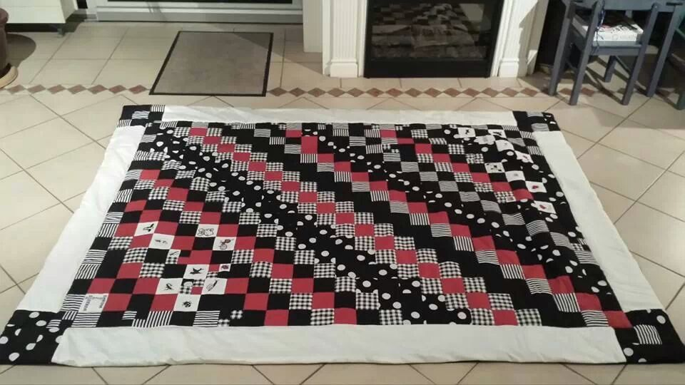 patchwork kleed quilt stap voor stap uitleg