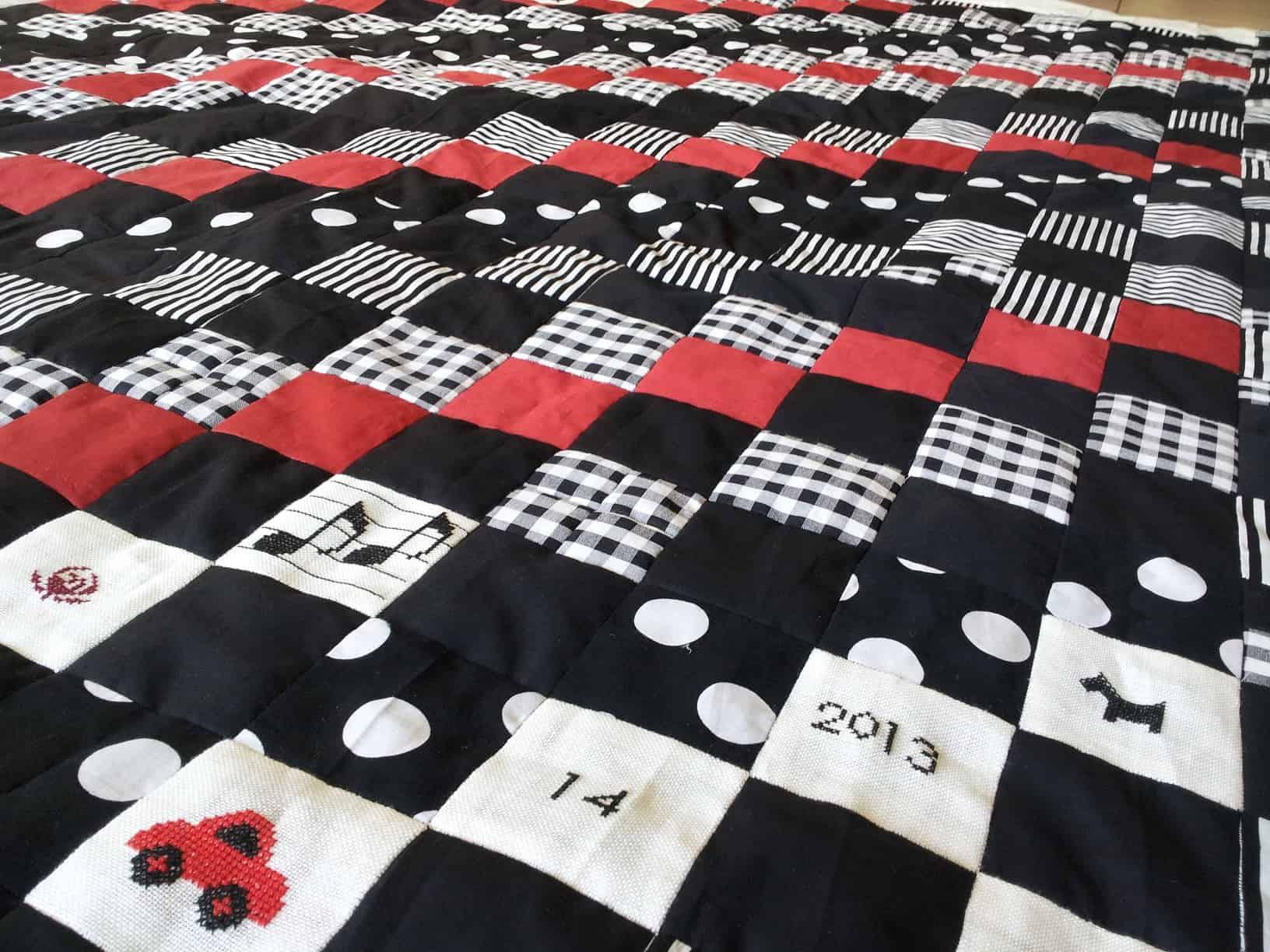patchwork quilt maken met stap voor stap uitleg hobby ForQuilt Maken Met Naaimachine