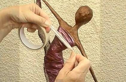 Basis uitleg voor het maken van een paverepol beeldje - Maken van zijn boekenkast ...