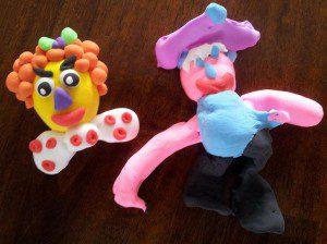 foam klei voor kinderen zelfdrogend en schoon 1