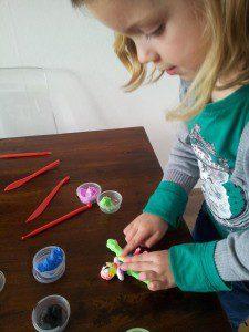 foam klei voor kinderen zelfdrogend en schoon 2