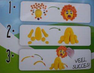 foam klei voor kinderen zelfdrogend en schoon voorbeeld
