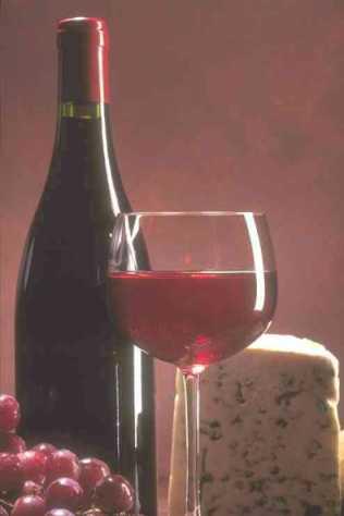 wijn en champagne etiketten