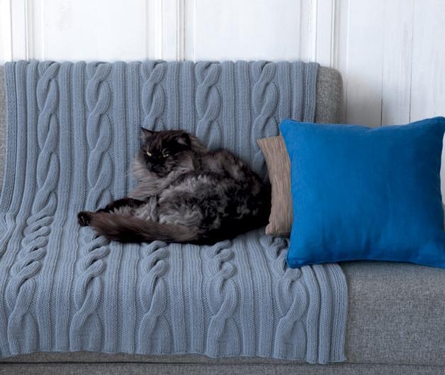 patroon deken plaid sprei breien of haken