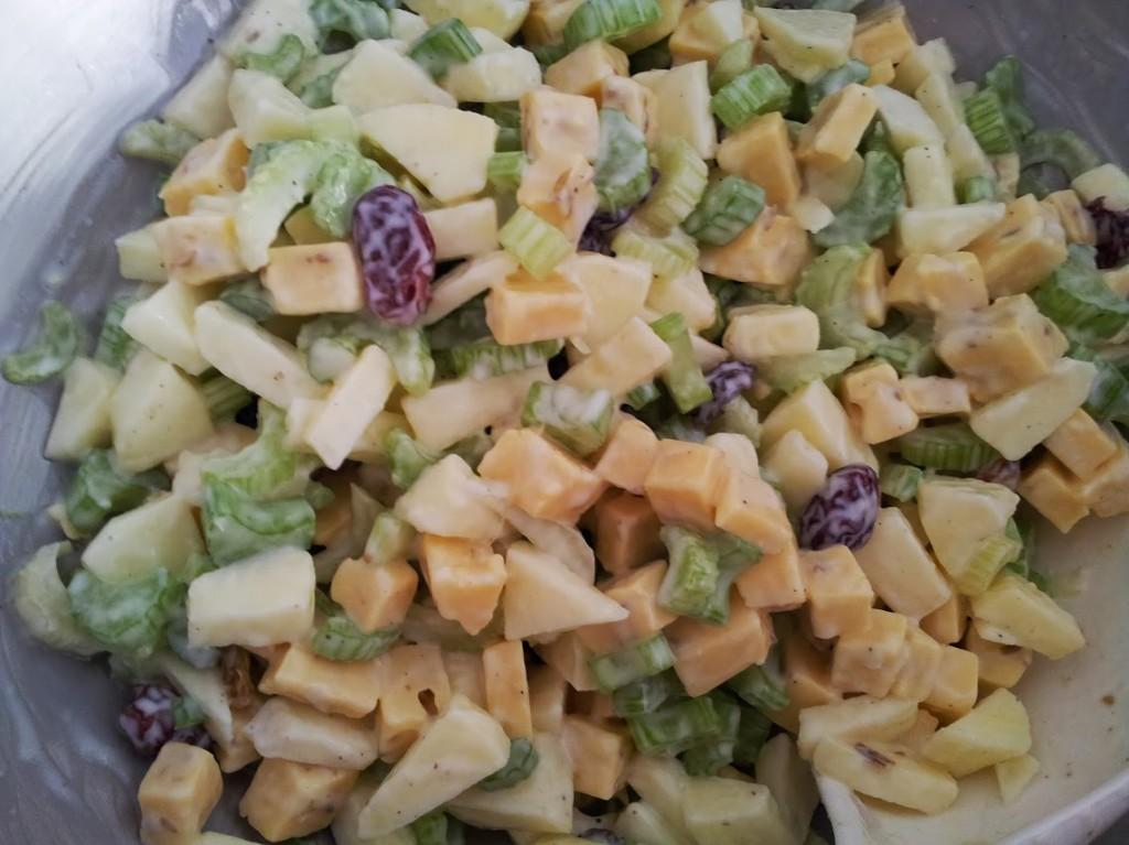 Recept bleekselderij salade