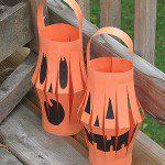 halloween lampion knutselen