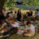 Picknicken kan idyllisch zijn