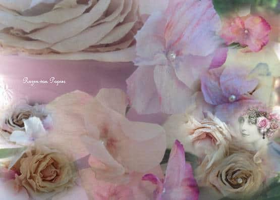 workshop rozen en viooltjes van papier 2