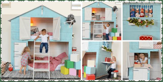 Kinderkamer meubels speels en kleurrijk - Hobby.blogo.nl
